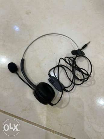 headphone with mic for office use