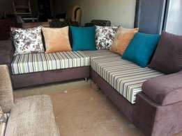 Will 7 seater L shaped sofa