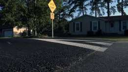 Public and Private Road Tarring Driveway Tar Surfacing Paving Concrete