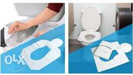 Disposable and flushable Travel Toilet Seat Cover Paper. 80/-