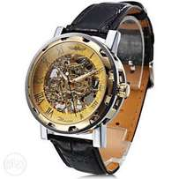 quality leather watch