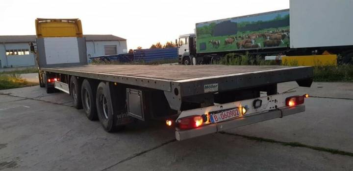 Fliegl SDS 350 / Plattform - 2007