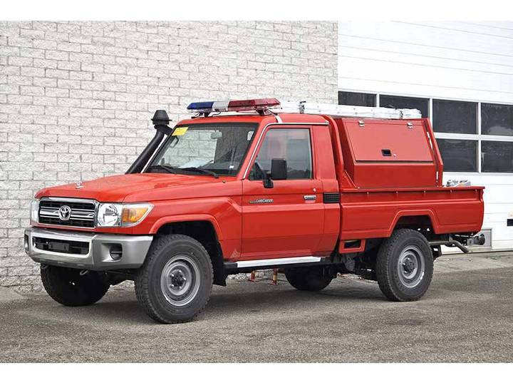 Toyota Land Cruiser SINGLE CAB FIRE TRUCK - 2018