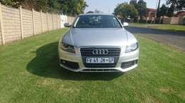 2012 Audi A4/B8 With 2.0 Litre TDI Automatic Transmission
