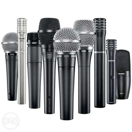 Shure Wireless and wired microphones Lagos - image 1