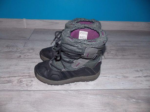 Buty zimowe ADIDAS rozmiar 35 śniegowce Primaloft Dębica