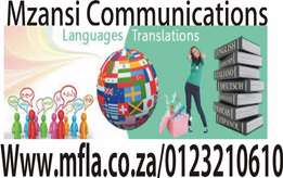 Language Translation services