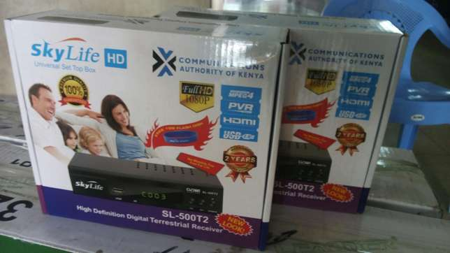 Skylife decoders brand new in promotion!! Mombasa Island - image 1