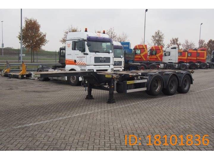 D-tec Polyvalent chassis 20-30-40-45 ft - 2006