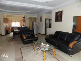 Three bedroom furnished and serviced apartment at dugbe onireke enviro