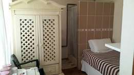 Longterm furnished room with shower accommodation