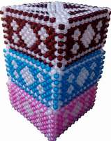 Beads serviette holder
