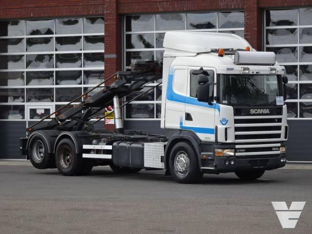 Scania 164-580 LB6x2NB Container cable system, Low Kilometer!! - 2003