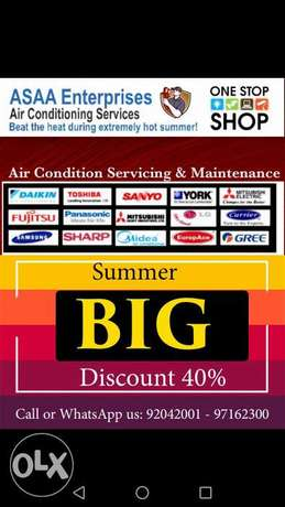 Air Conditioner Specialist Get 40% Discount on Servicing