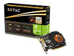 Zotac Geforce GT730 4gb graphic card