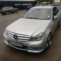 2013 Mercedes C 200 CDI BlueEFFICIENCY Avantgarde 7G-Tronic for R17500