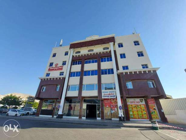 2+1 Bedroom commercial office apartment in Ghubra FOR RENT