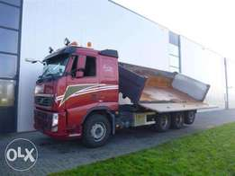 Volvo Fh480 8x4 Tridem Dumper Euro 5 - To be Imported