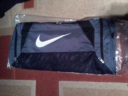 5b06906cc4089 NOWA Torba sportowa Nike BRASILIA M Medium BA4829 SZARA na prezent ...