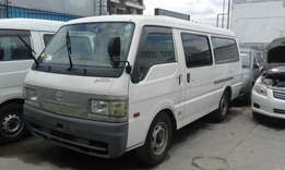 Just arrived now Mazda bongo brawny manual diesel