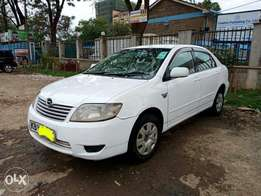 toyota corolla NZE year 2006model.