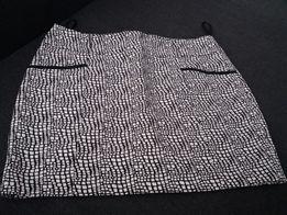 9bbd16b6e8 Spodnica next czarno biała cegiełka elegancka biurowa
