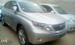 Silver Lexus RX 450h: HIRE PURCHASE