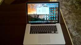 "MAC book PRO 15"" i5 clean laptop"