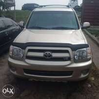 Tincan cleared tokunbo toyota sequoia 2008 limited edition