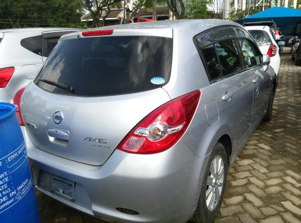 Silver Tiida ax15 ,2009 Model,1500cc,Alloy Wheel,Semi-leather Seats, Nairobi CBD - image 5