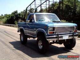 Ford Bronco 80-89 windscreens