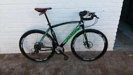 Brand new road bicycle at only R3200 well below market value!