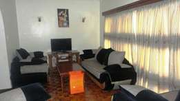 furnished 2 bedroom apartment on riverside drive,westlands