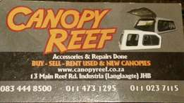 Canopy Reef: New and used canopies
