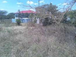 1/8 Plot at Ongata Rongai Muthaura road. Very Ideal for a home/flat