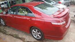 Sparkling Clean US Used Toyota Camry 2007 Red