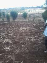 40*80 plot at Githanji kenol. 1.3km off tarmac(Nai-Nyeri highway)