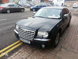 Chrysler 300C 3.0 CRD Diesel 4d auto 218 bhp Slate Grey Leather seats