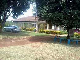 6 bedroom bungalow on 0.75 acres for rent as office in Muthiga,Kinoo