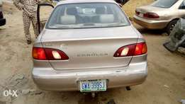 Corolla 2000 Used first body