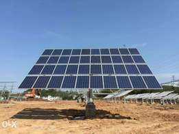 Solar tracking system 10 kw