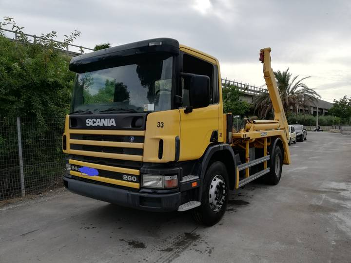 Scania 94g 260   Meiller AK12MT - 2002