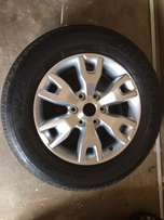 Ford Ranger Wildtrack rims and tyres