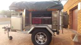 Spacious 6 Sleeper Desert Wolf Lynx Trailer