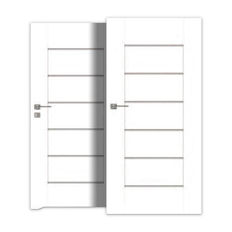 Drzwi Wewnętrzne W 7 Dni Pokój łazienka Szklone Dre Verso