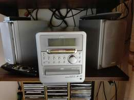 Radio dvd tape and cd player