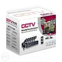cctv security recording system with internet & phone viewing