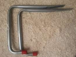 Aluminium storage hooks - bicycles & outdoor gear