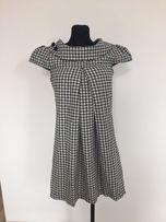 0cb5bba806 Sukienka w kratkę New look M szara Mohito zara Reserved orsay zara