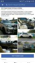 2013 Toyota Fortuner Ltd Edition - Automatic